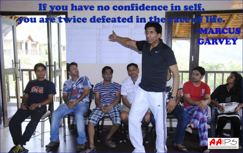 Confidence Through Public Speaking