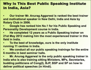 AAIPS- The Best Public Speaking Training Institute