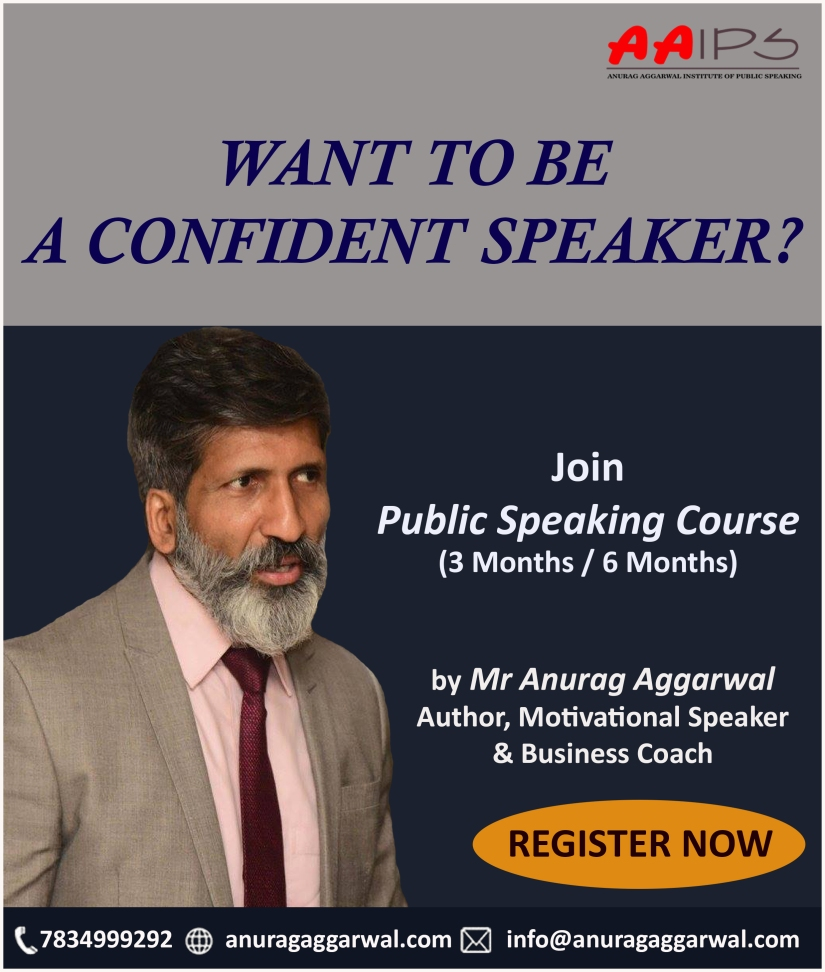 Anurag Aggarwal Institute of Public Speaking