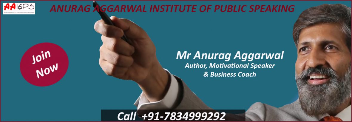 Anurag Aggarwal | Public Speaking Course