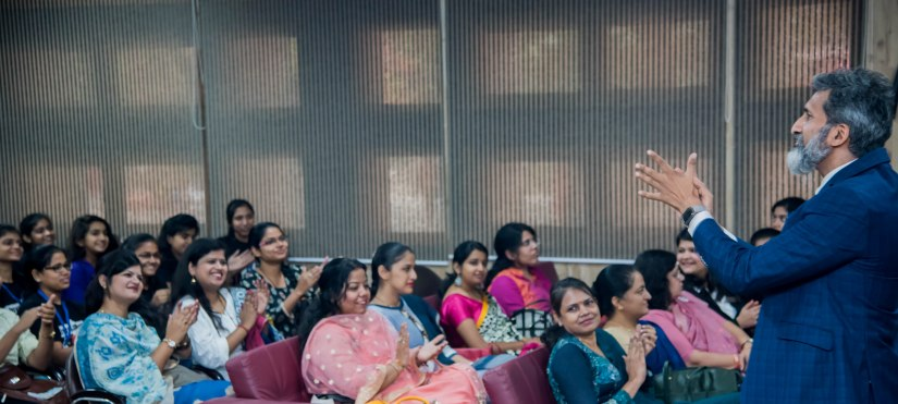 Public speaking trainer Anurag Aggarwal