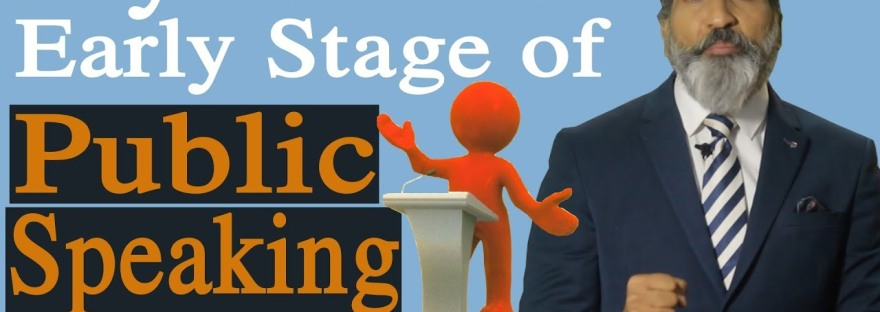 if you are at early stage of public speaking | anurag aggarwal