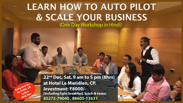 Business workshop | Business Training | Business Coach Anurag Aggarwal