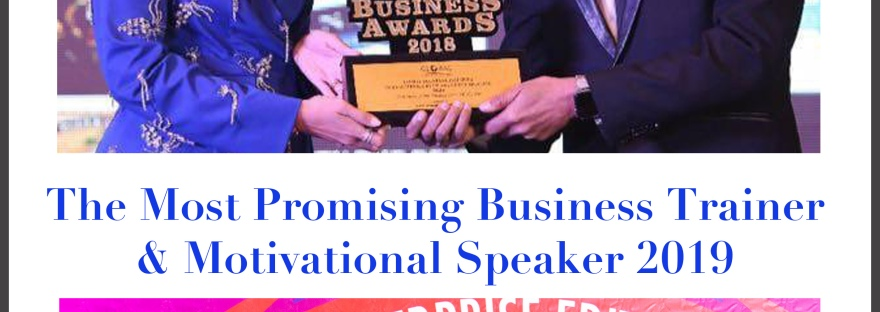 Awards to Anurag Aggagrwal | Business Coach | Public Speaking Trainer | Motivational SPeaker